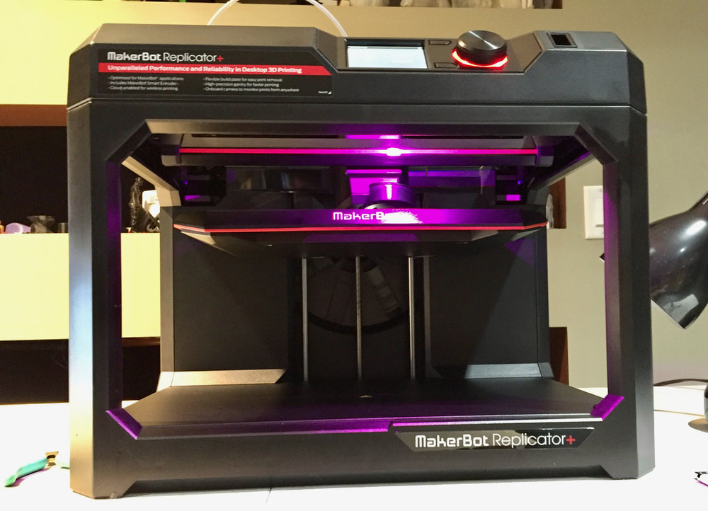 The Replicator+ is now ready to print!