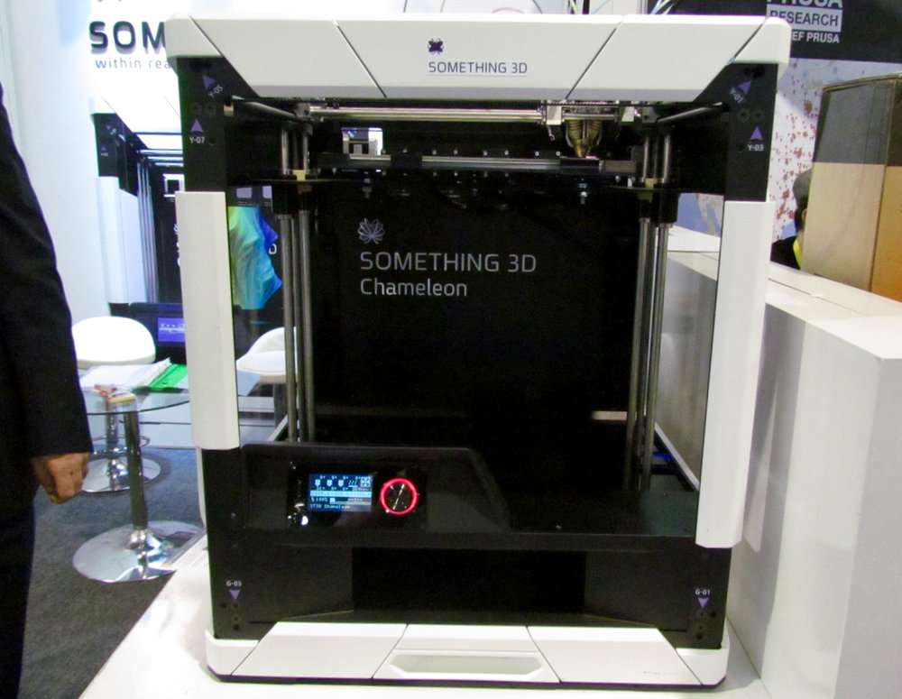The Something 3D Chameleon desktop 3D printer prototype