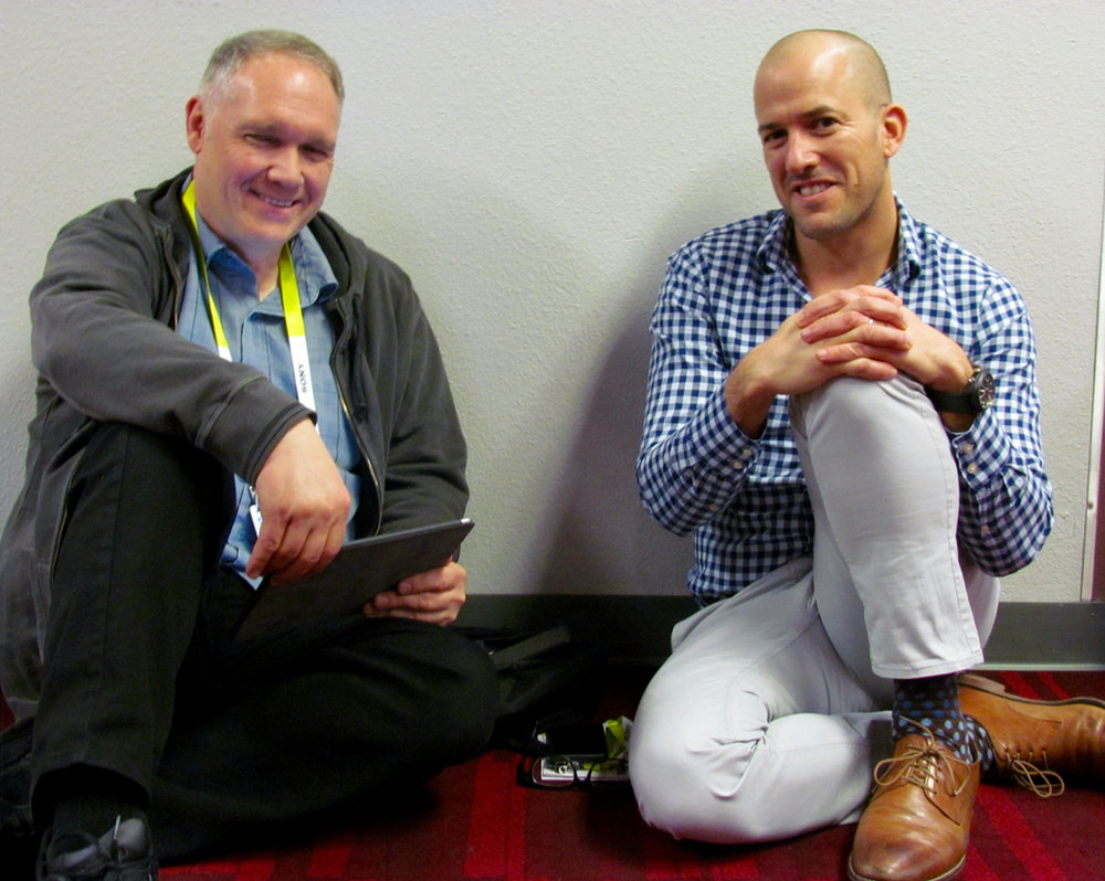 Chatting with MakerBot's Jonathan Jaglom - on the floor