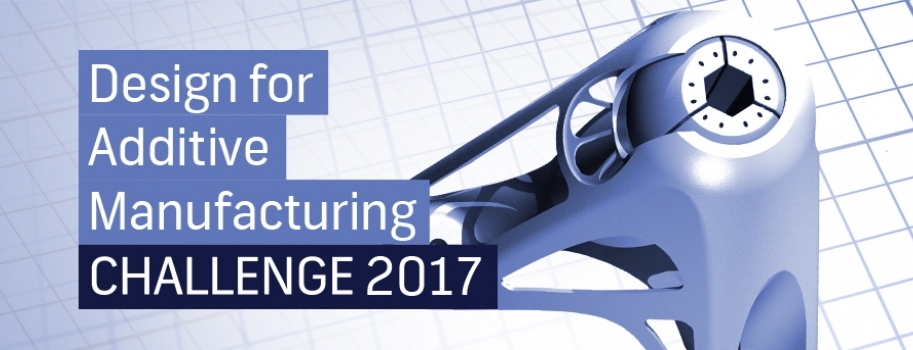 The third annual Additive World design challenge is open