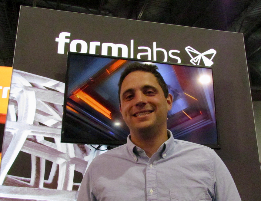 Max Lobovsky of Formlabs