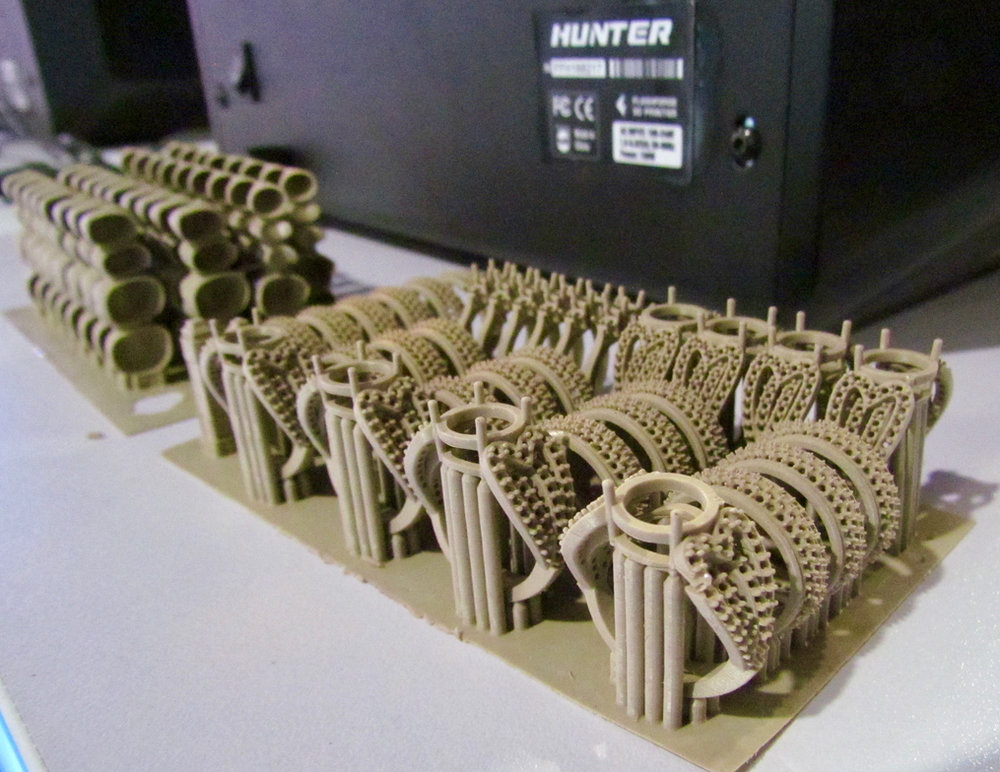 High quality 3D prints from the Flashforge Hunter 3D printer