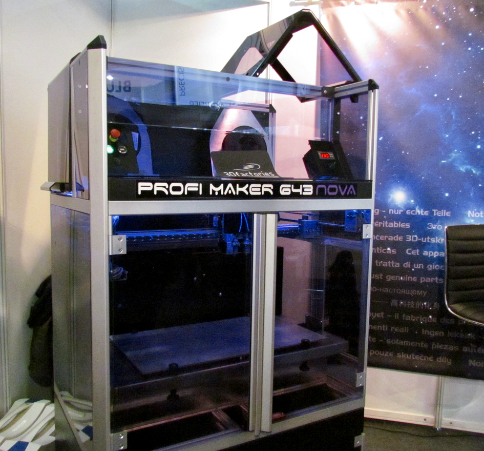 The large-format ProfiMaker 643 3D printer from 3Dfactories