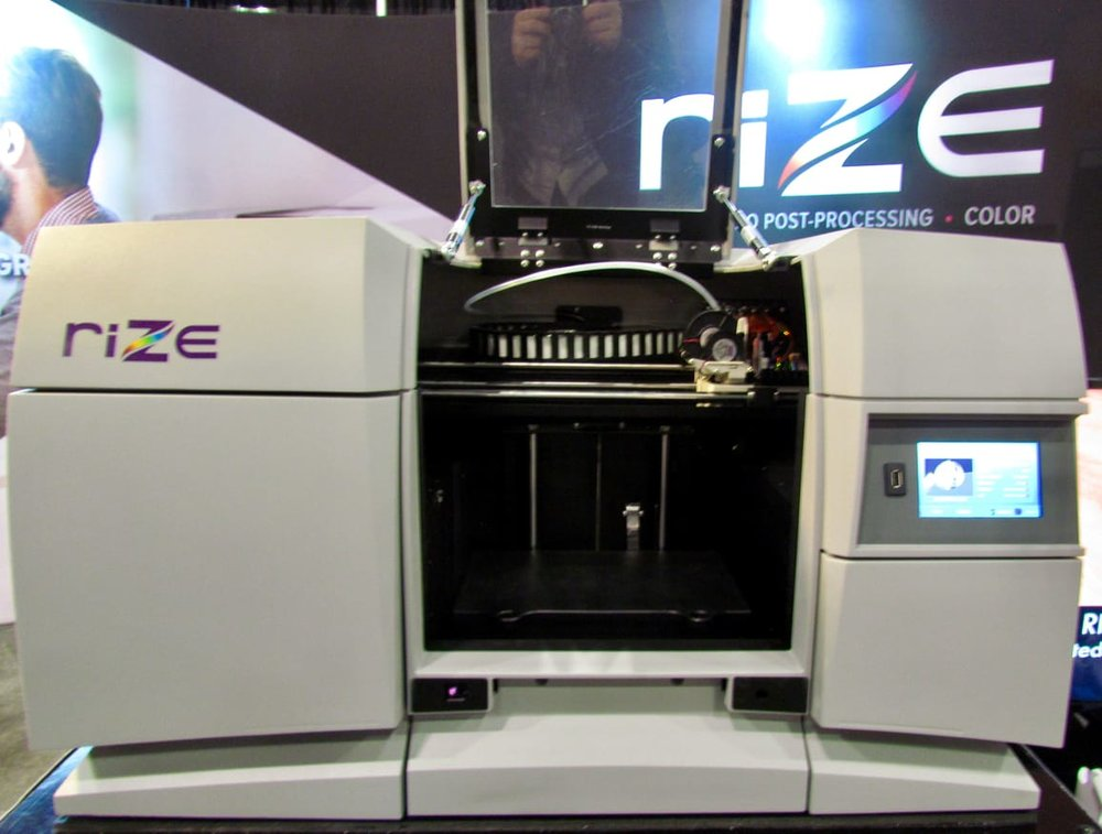The Rize 3D printing system