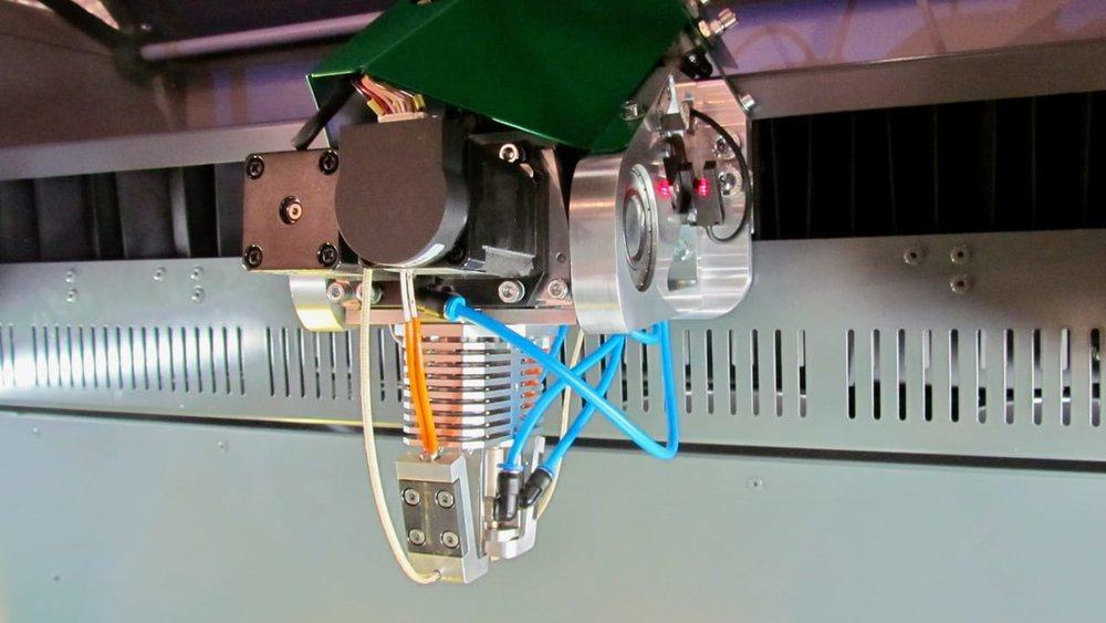 The air-cooled Hage 3D printing extruder