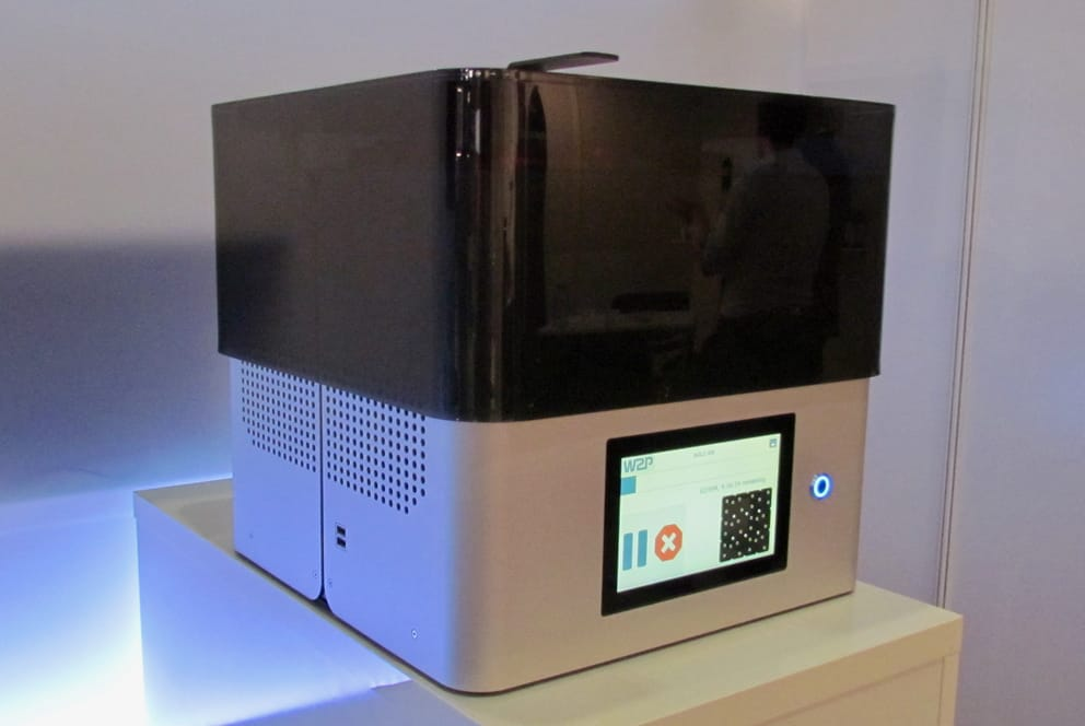 W2P's SolFlex high resolution 3D printer