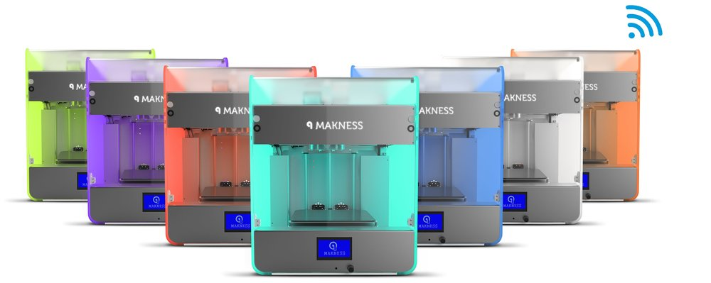 The Makness MK-1D 3D printer