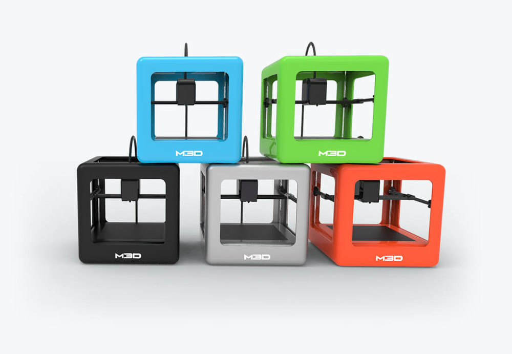 The M3D Micro desktop 3D printer family