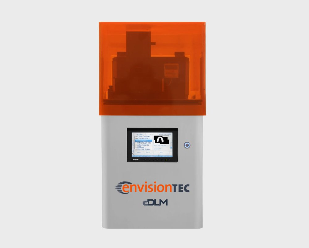 The EnvisionTEC Vida cDLM dental 3D printer