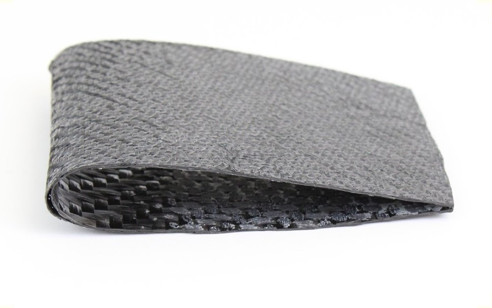 A test carbon fiber wing using E3D-ONLINE's soluble mould process