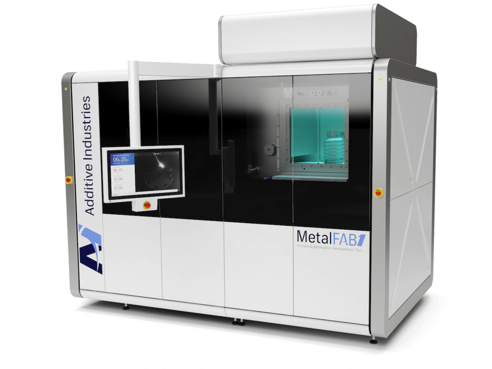 The new MetalFAB1 Process & Application Development Tool from Additive Industries