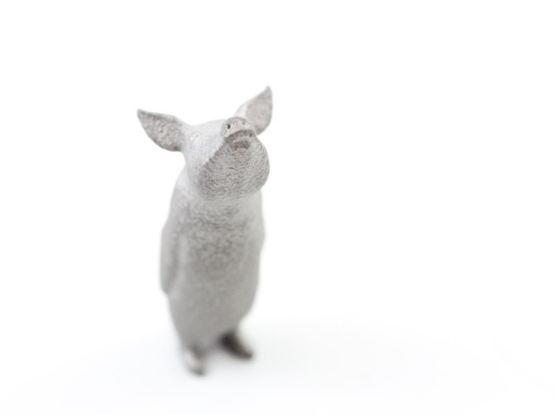A sample 3D print in aluminum from i.materialise
