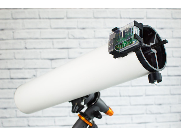 The PiKon 3D printed telescope