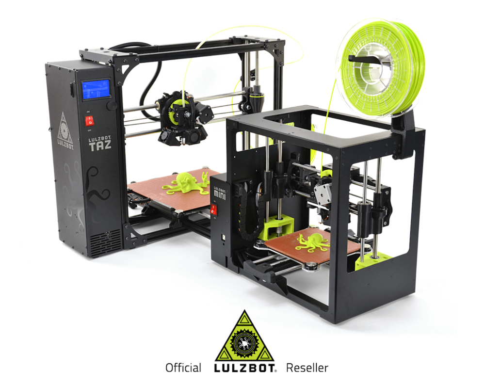 LulzBot 3D printers now being sold by colorFabb?