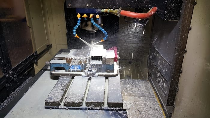 The Ability1 3D metal printer includes a milling head to trim off excess material