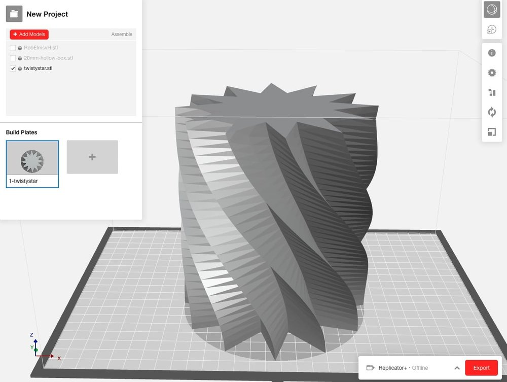 "MakerBot's new ""MinFill"" slicing option speeds 3D prints signficantly"