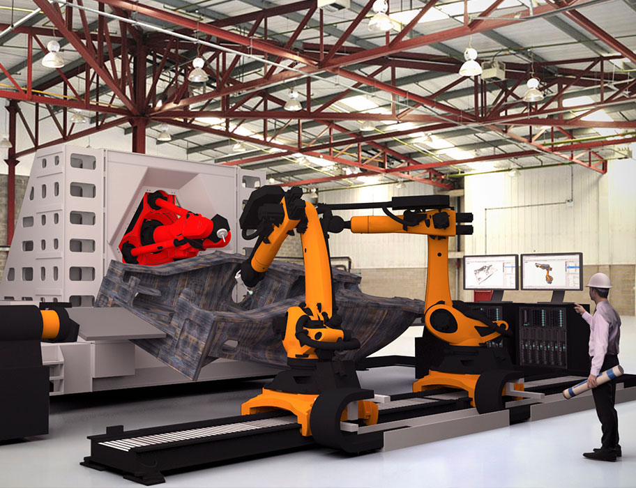 The LASSIM project hopes to build a multi-function manufacturing system