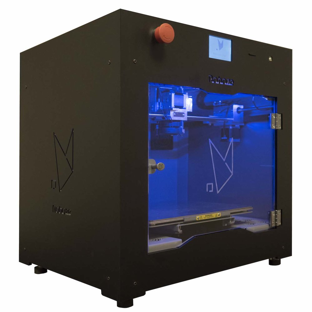 The New Roboze One professional desktop 3D printer