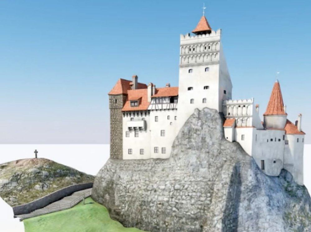 A life-sized 3D printed castle?