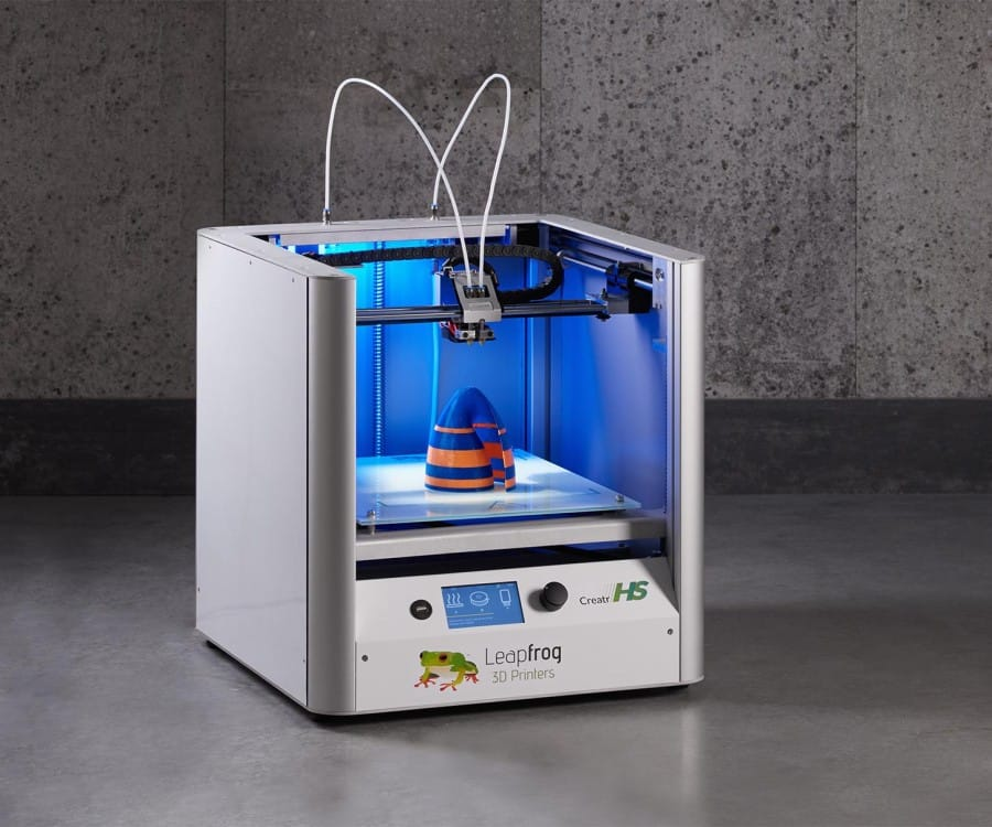The Leapfrog Creatr HS desktop 3D printer is now a great deal less expensive
