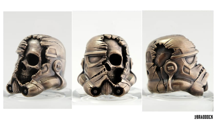 The very cool 3D printed Star Wars Death Trooper