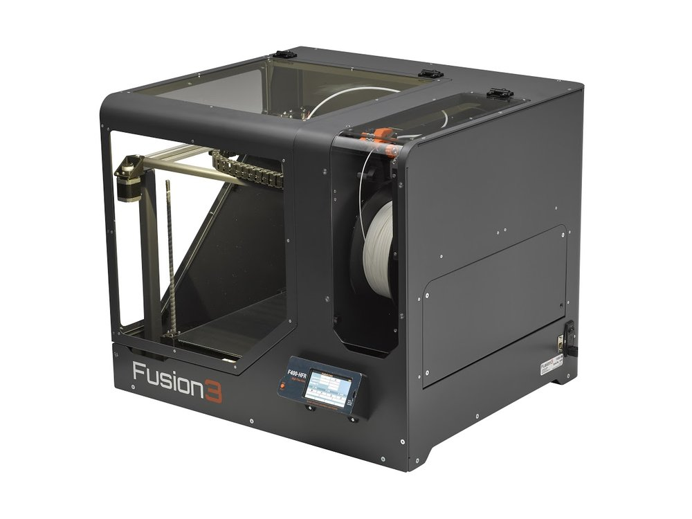 The Fusion3 F400, another great choice for a professional desktop 3D printer