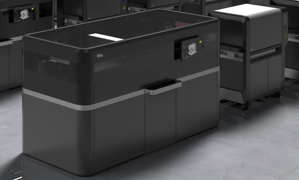 Desktop Metal's new Production 3D metal printing system