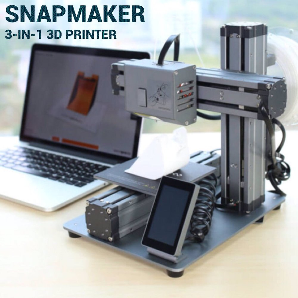 The Snapmaker desktop multifunction 3D printer