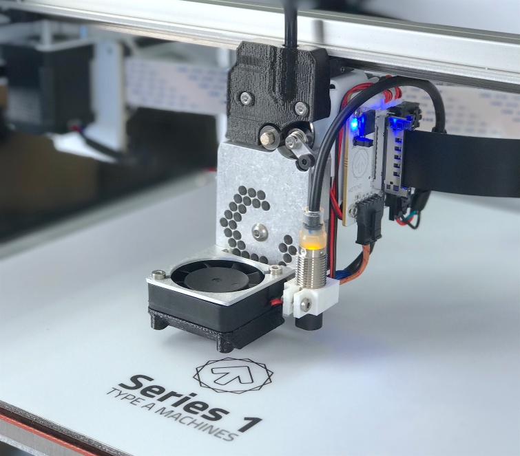 Type A Machines has added some new features to their Series 1 line of desktop 3D printers