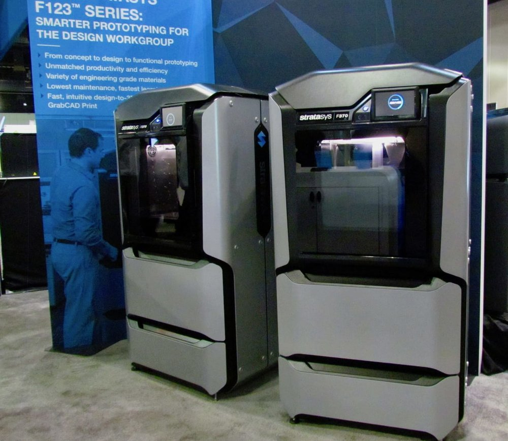 The new machine was shown at a recen trade show.