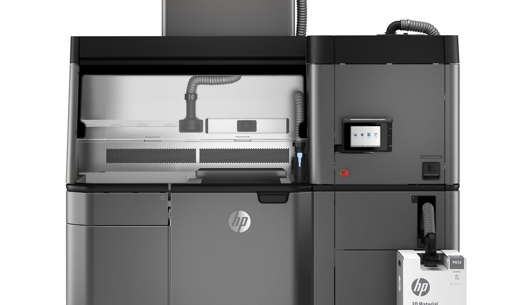 The HP 3200 industrial 3D printer