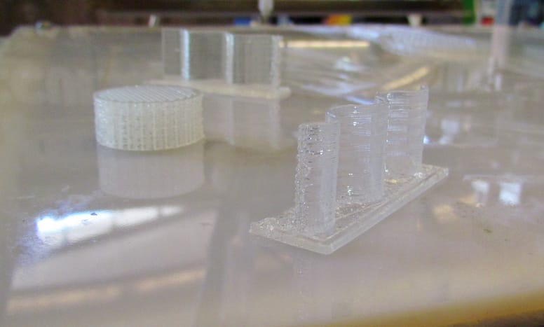 Excellently detailed silicone 3D prints from German RepRap