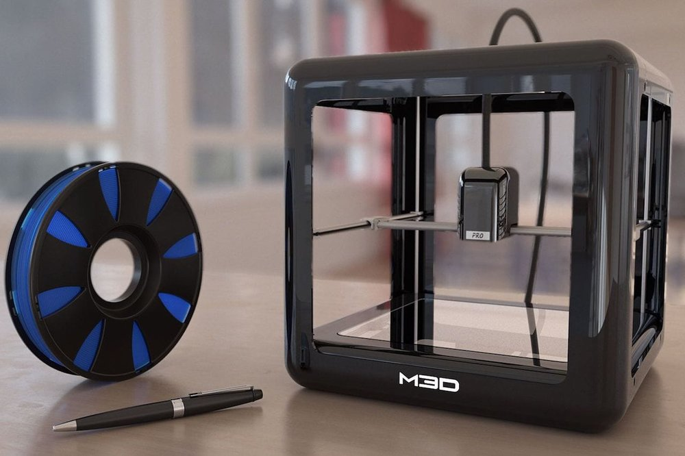 The M3D Pro desktop 3D printer