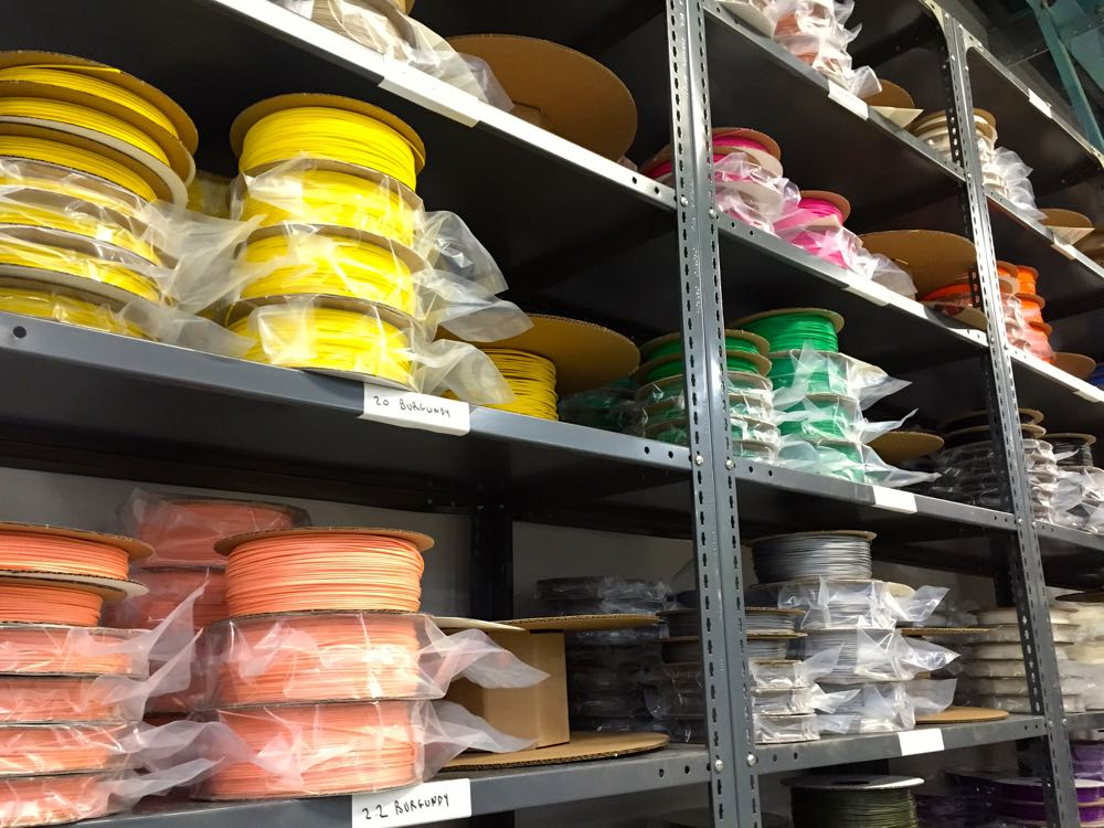 Lots of 3D printer filament