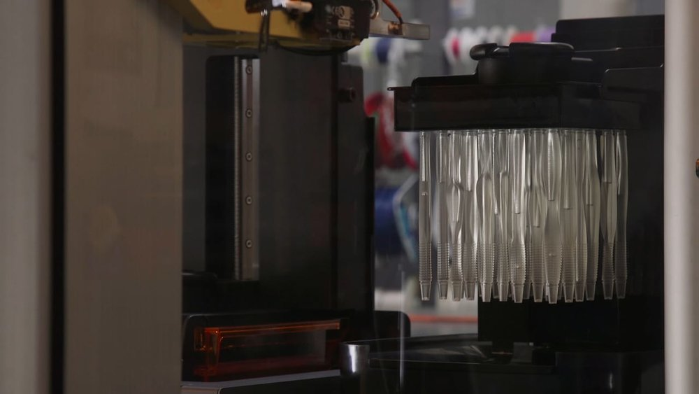 The automated wash station on the new Formlabs Form Cell 3D print automation system