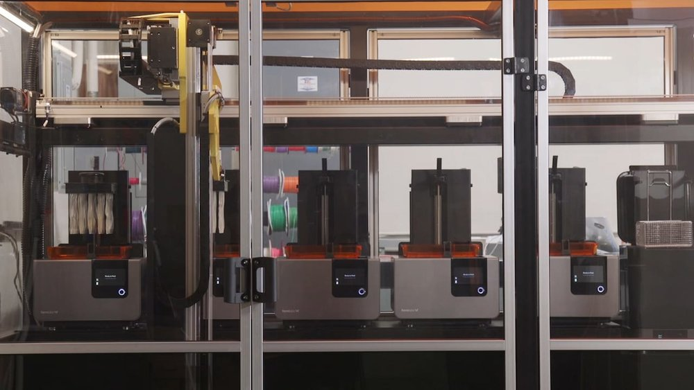 The new Form Cell 3D print automation system from Formlabs