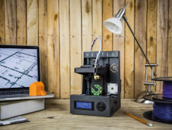 The Vertex Nano desktop 3D printer kit from Velleman