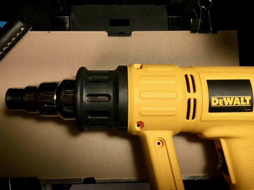 An essential tool for 3D printing: a heat gun