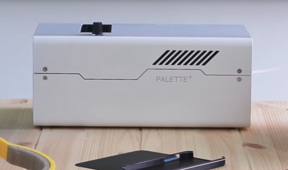 The powerful Palette+, a new 3D print filament accessory from Mosaic Manufacturing