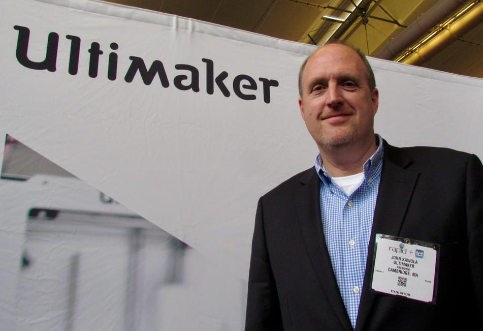 John Kawola, President of Ultimaker North America
