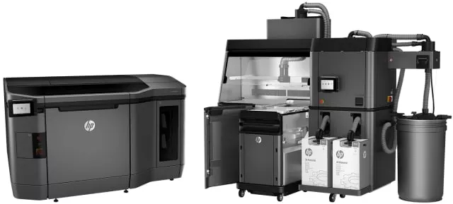 HP's 3D printing equipment