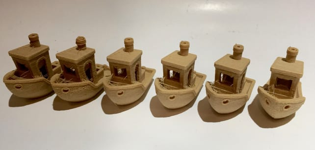 "Iterating through settings to remove ""stringies"" on Fiberlogy's Fiberwood 3D printer filament"