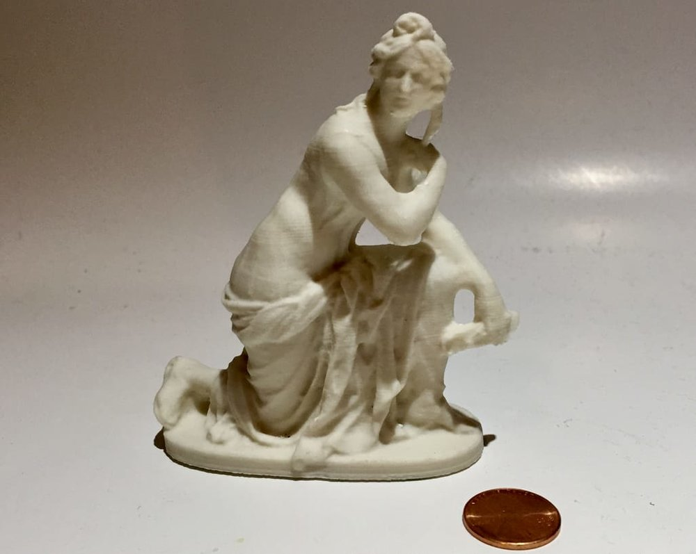 Another stunning figurine 3D print using Fiberlogy's PLA Mineral filament