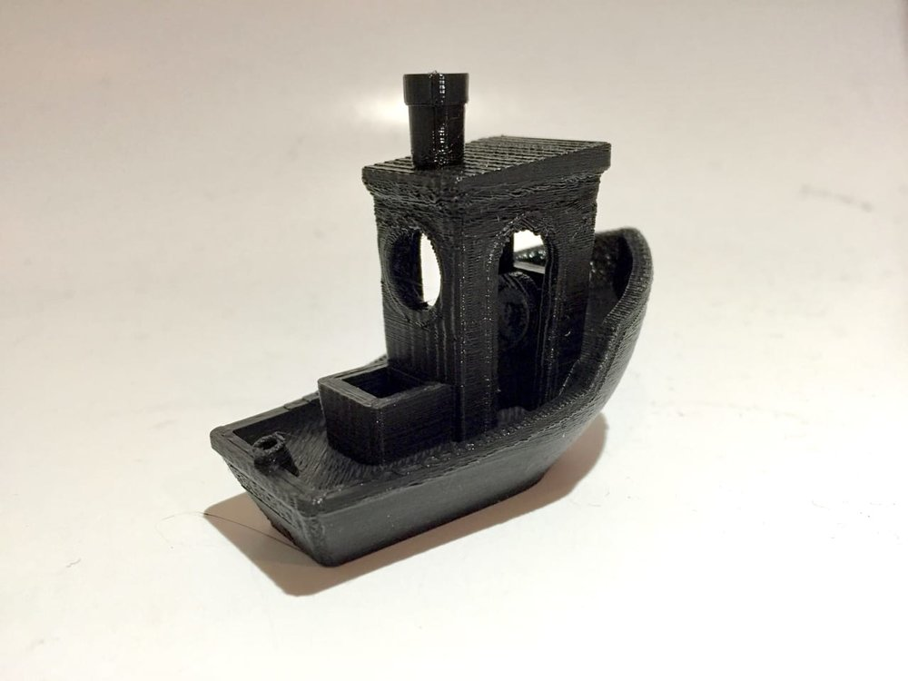 A typically excellent 3D print using Fiberlogy's terrific HD PLA filament