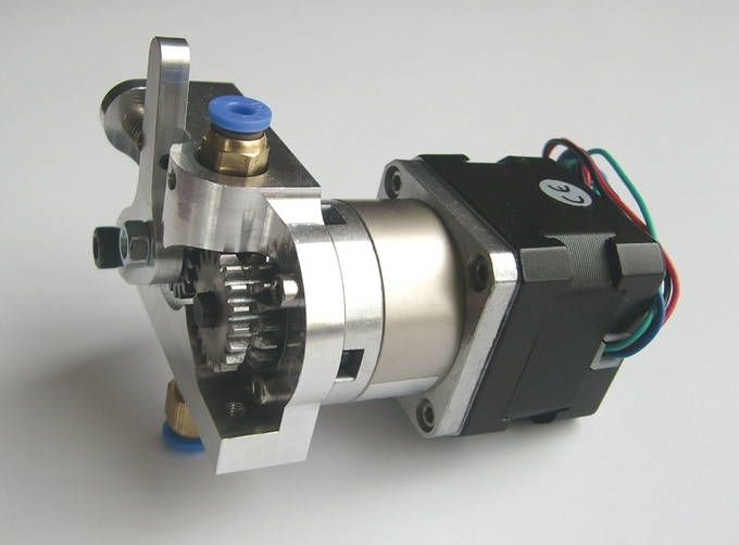 The I3D Innovation extruder, part of their high performance extrusion system