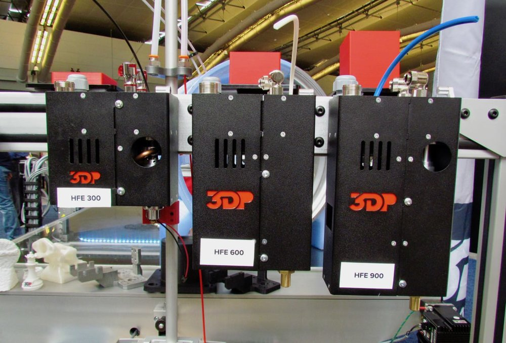 3D Platform's powerful line of 3D printing HFE extruders