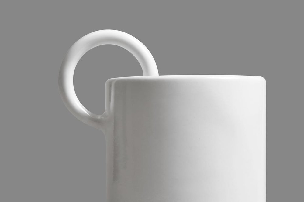 The 3D printed ceramic Cerco Espresso Cup