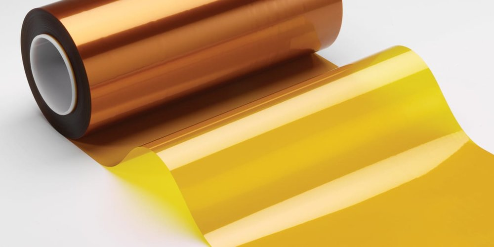 A roll of Kapton tape, often used in 3D printing