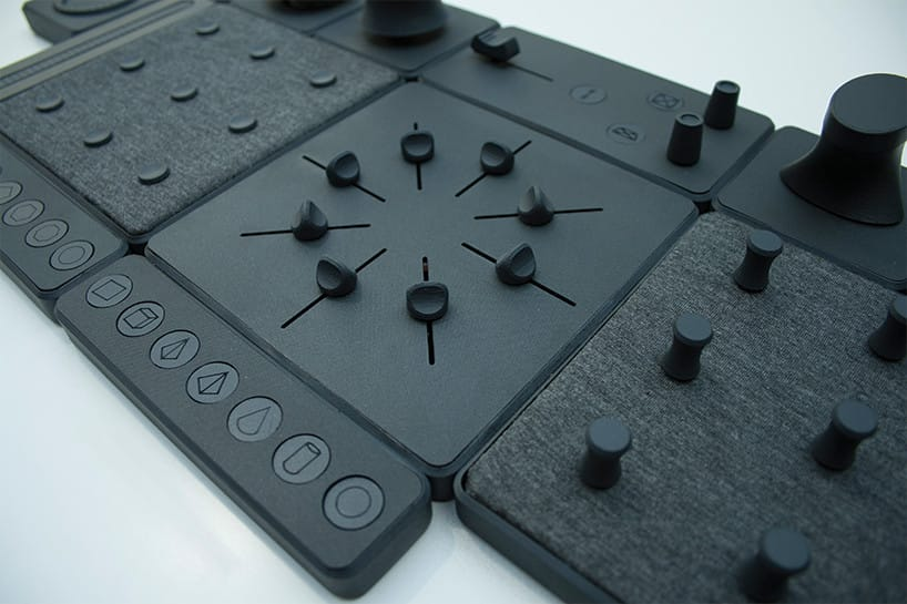 The TAC.TILES 3D mouse control panel