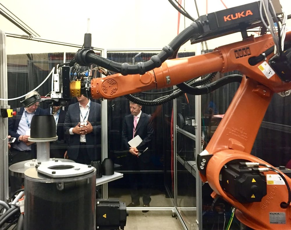 Could robotic 3D printing take off?